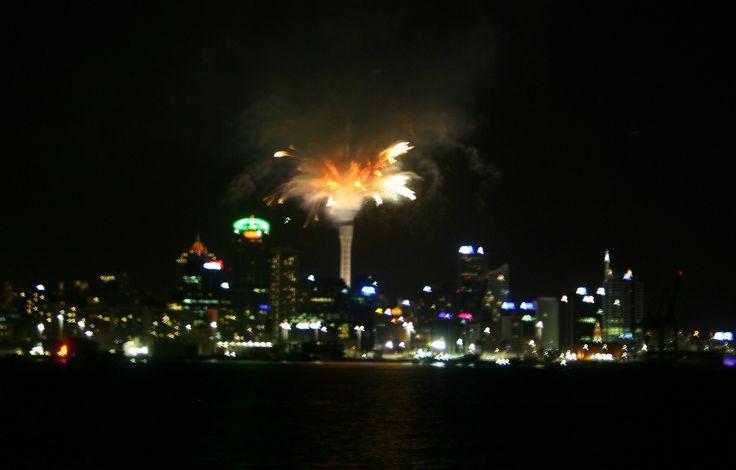 Sky Tower Fireworks