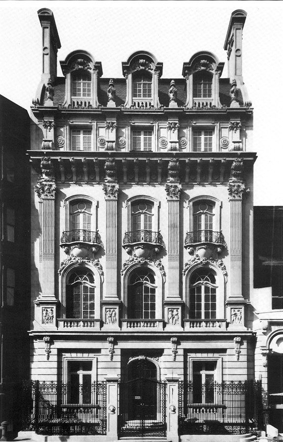 Fabbri-Steele Mansion - New York City (Wurts Bros., c.1900)