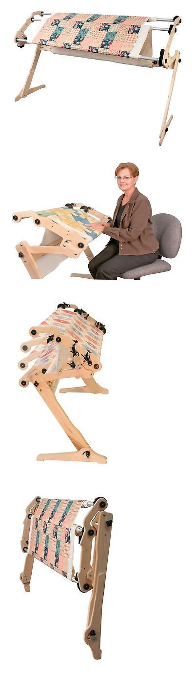 Quilt Hangers and Stands 83959: Grace Start-Right Ez3 No-Baste Hand Quilting Frame -> BUY IT NOW ONLY: $264.4 on eBay!