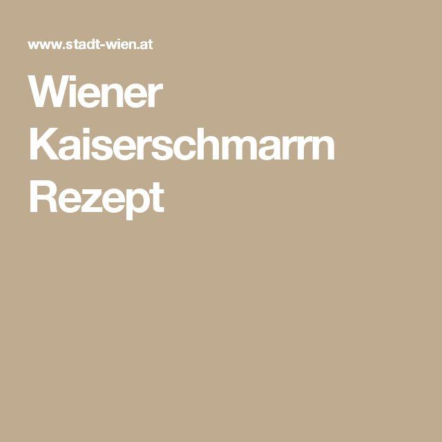 Wiener Kaiserschmarrn Rezept