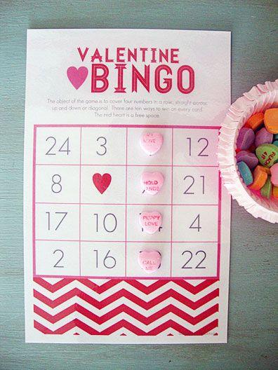 valentine bingo | free printable
