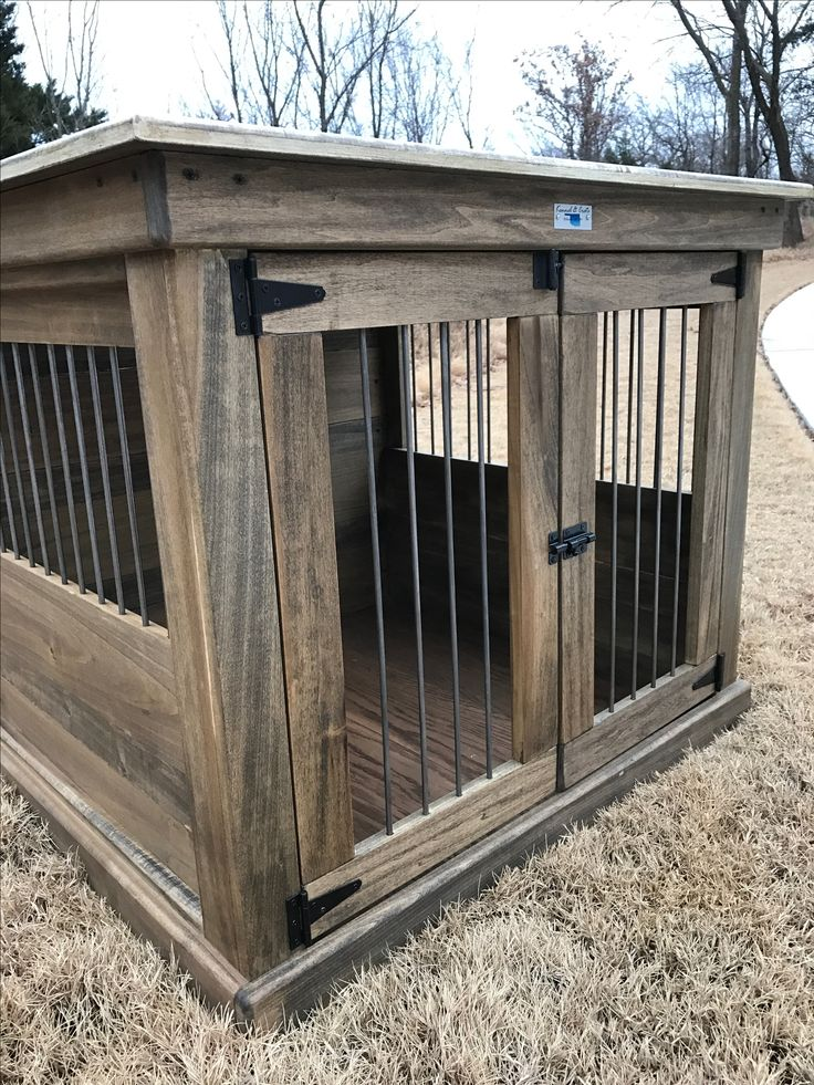 160 best single indoor dog kennels images on pinterest for Design indoor dog crate