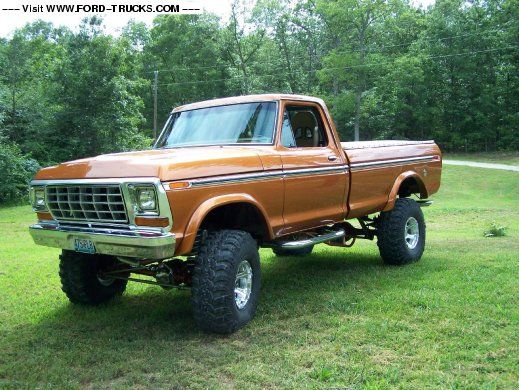 73 77 ford truck paint colors five unconventional for Ford f150 paint job cost