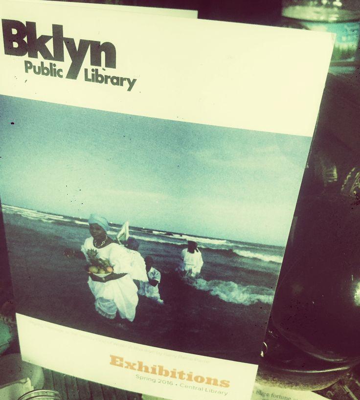 Brooklyn Public Library Voodoo exhibit flyer photo
