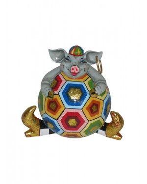 Cofre Porco Diego - Thomas Hoffman #tomsdrag #thomashoffman #decoracao #escultura #amandapresentes #cofre #porco #diego