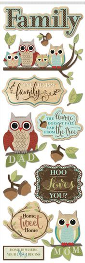 Large Dimensional Family Stickers by Recollections