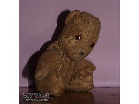 Vintage toys teddy bear - stare zabawki pluszowy miś