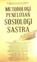 Toko Buku Sang Media : Metodologi Penelitian Sosiologi Sastra