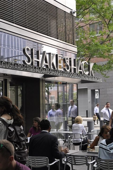 Shake Shack Batter Park City