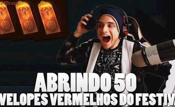 ABRINDO 50 ENVELOPES VERMELHOS DO FESTIVAL