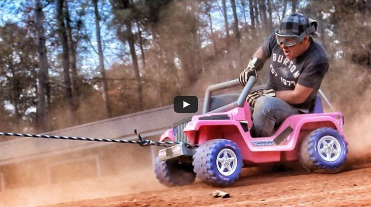 Stock Car racer Dale Earnhardt Jr is known for his extreme racing and fast cars but this is a little different! Crazy! Check it out... http://www.carhoots.com/blog/celebrity-cars/stock-car-racer-dale-earnhardt-jr-gets-dragged-around-the-roads-in-barbie-car-video#sthash.aXyn4bCa.dpuf