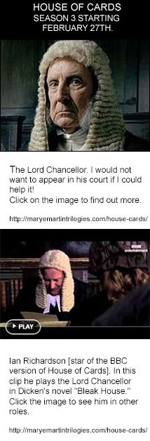 Watch Video here: https://www.pinterest.com/pin/99853316714206642/ http://maryemartintrilogies.com/house-cards/    #House of #Cards #Ian #Richardson, #Kevin Spacey, #suspense #novels #movies #television #theatre #power #corruption #politics #President #Prime Minister