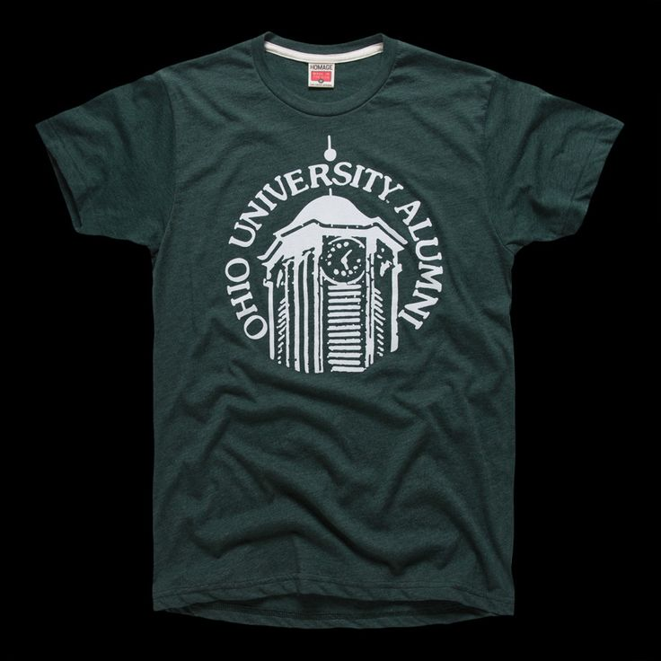 Ohio University Alumni OU Bobcats T-Shirt | HOMAGE - Large