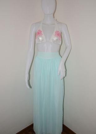 Kupuj mé předměty na #vinted http://www.vinted.cz/damske-obleceni/maxi-sukne/9656352-transparentni-maxi-sukne-v-barve-minty