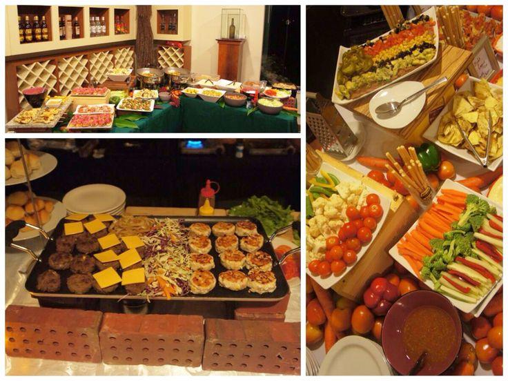 Foodstation tijdens event