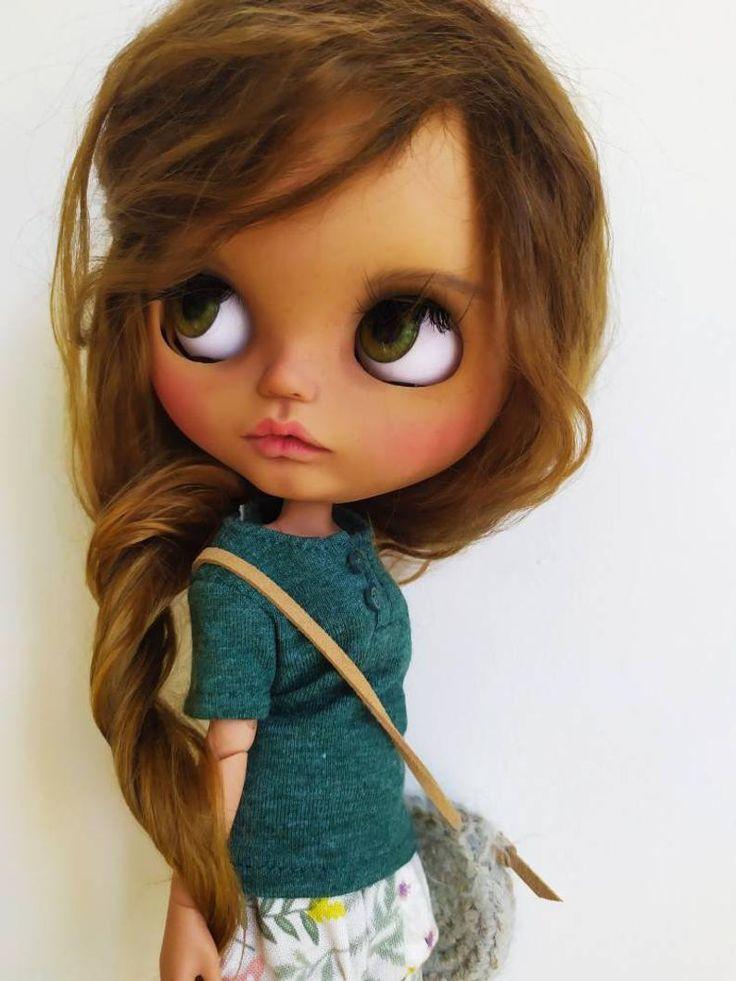 Blythe custom/ blythe doll/ weft mohair/ custom blythe