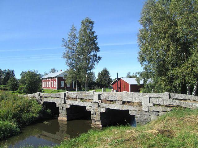 Harrström stone bridge. Korsnäs, Ostrobothnia province of Western Finland…