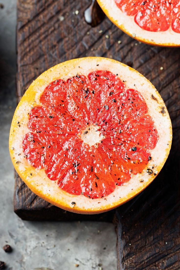 Brown Sugar Broiled Grapefruit Recipe - Low Calorie, Low Fat