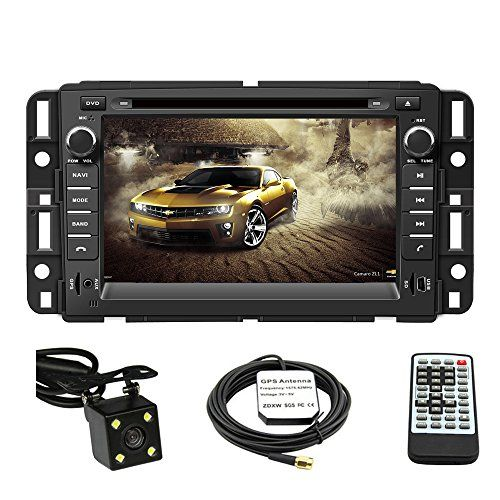 Car GPS Navigation System for GMC Yukon 2007-2014 GMC Acadia 2007-2012 Chevrolet Tahoe 2007-2014 Buick Enclave 2008-2012 Chevrolet Suburban 2007-2014 Double Din Car Stereo DVD Player 7 Inch Touch Screen TFT LCD Monitor In-dash DVD Video Receiver with Built-In Bluetooth TV Radio, Support Factory Steering Wheel Control, RDS SD/USB iPod AV BT AUX IN+ Free Rear View Camera + Free GPS Map of USA - http://www.caraccessoriesonlinemarket.com/car-gps-navigation-system-for-gmc-yukon-20