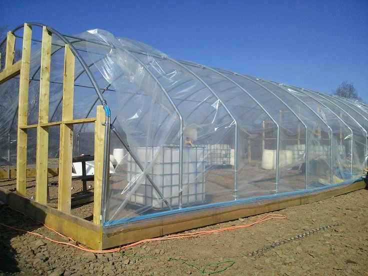 Installing Greenhouse Plastic Covering