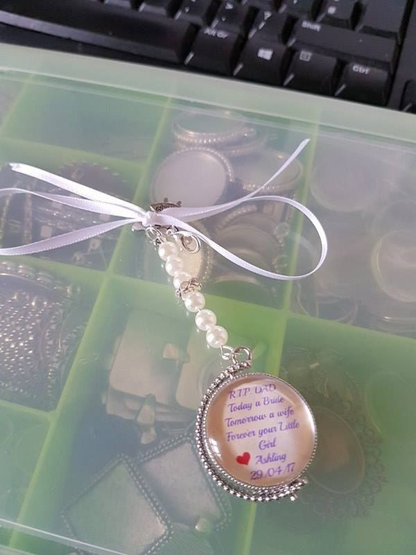 double sided rotating pendant, photo on other side!Visit my business page for more...