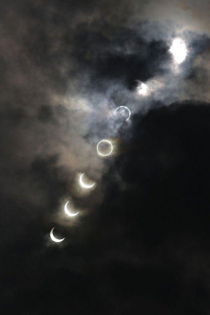 solar eclipse at Tokyo (photo credit: Yoshihiro Sekine)