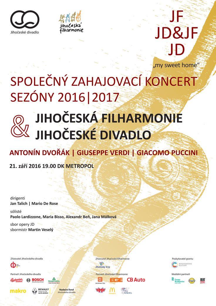 Historicky první společný koncert Jihočeského divadla a Jihočeské filharmonie - Jihočeské divadlo