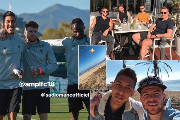 What Liverpool stars got up to on warm weather training camp in Marbella revealed