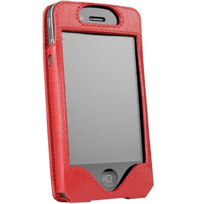 outfitYOURS.com - Sena LeatherSkin Leather Case for iPhone 4S - Red, $39.95 (http://www.outfityours.com/sena-leatherskin-leather-case-for-iphone-4s-red/)