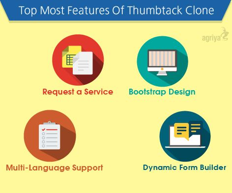 Amazing Features of #Thumbtack Clone  For more features: http://goo.gl/NkqjEl