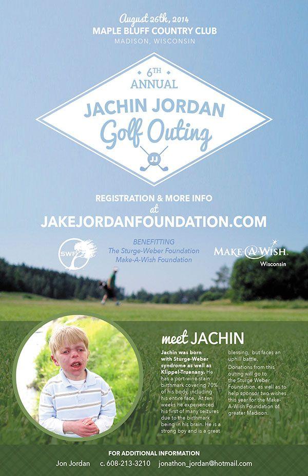 Jake Jordan Golf Outing on Behance