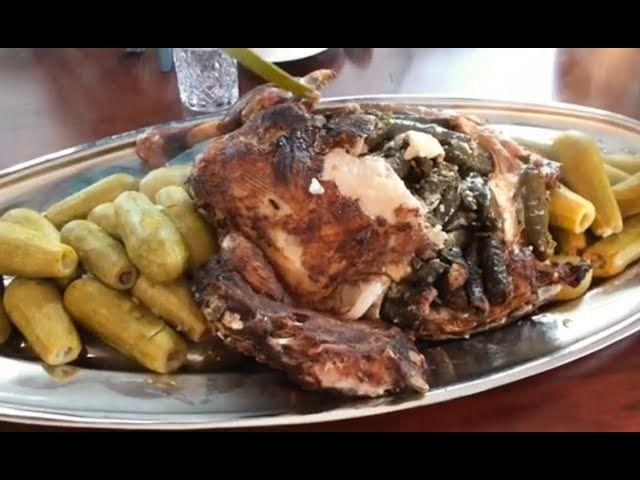 اول مرة بحشي ضلع خروف بورق عنب وكانت تجربة ناجحة والحمد لله وكتير طيب اتمنى تجربوا ضلع خروف Food Beef Turkey