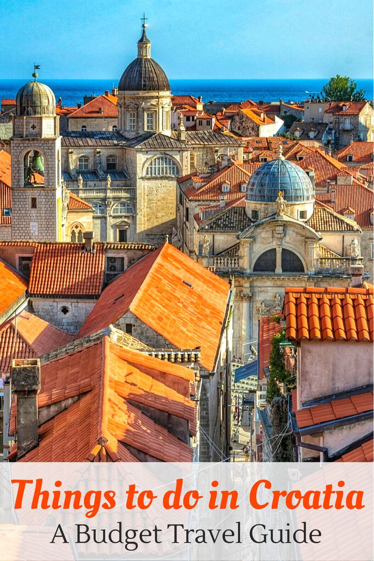 Croatia Budget Guide: The Ultimate budget travel guide for Croatia. Our tips on how to save money and get the most out of your budget on a trip to Croatia.
