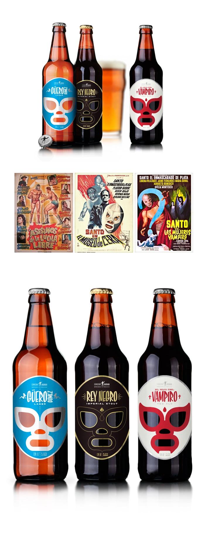 A mi colección le falta las botellas de la Cervecería Sagrada