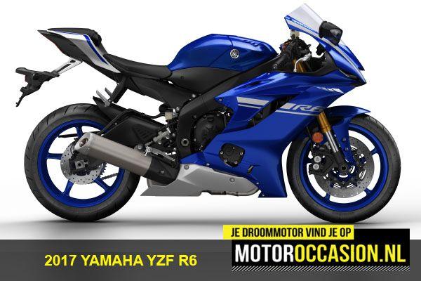2017 Yamaha YZF R6 blue Motoroccasion.nl - motor tweedehands motoren en nieuwe motors te koop