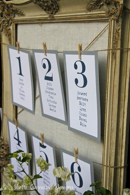 wedding table assignments board : We had a simple check in-table and a ...