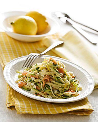 Linguine al salmone affumicato Un primo piatto facile e veloce da preparare, ma molto gustoso e gradito
