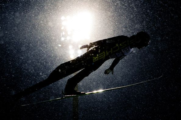 Junshiro Kobayashi of Japan during the FIS Ski Jumping World Cup Vierschanzentournee (Four Hills Tournament) on December 29, 2014 in Oberstdorf, Germany. (December 28, 2014 - Source: Stanko Gruden/Agence Zoom/Getty Images Europe)