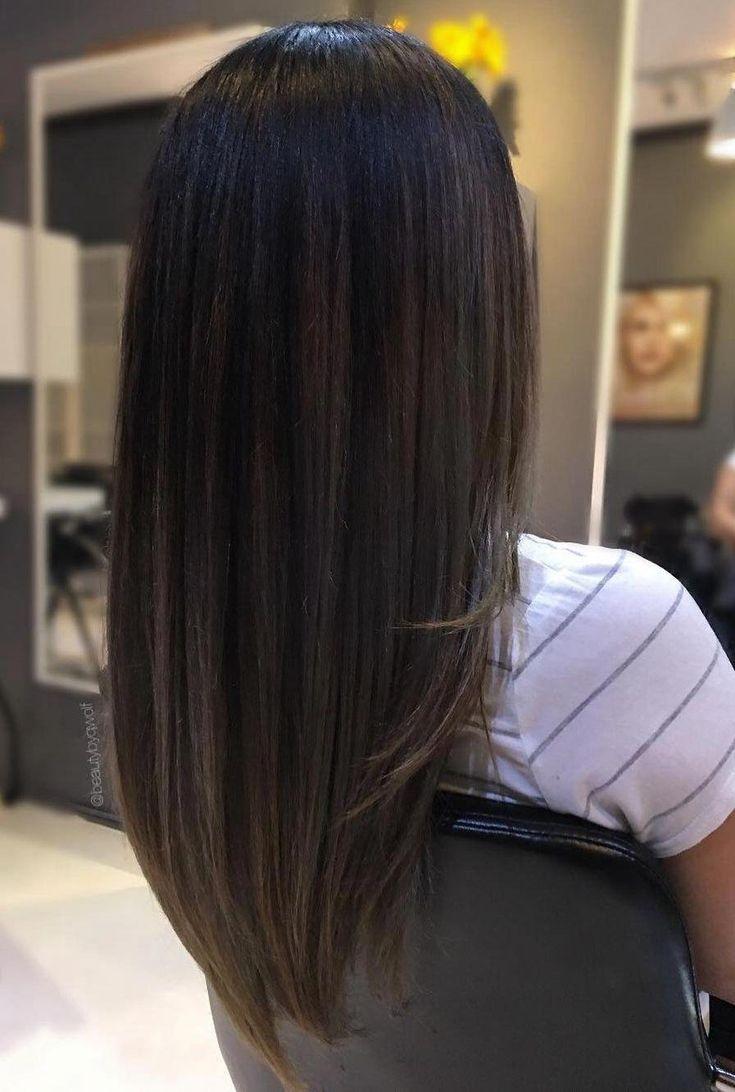 Pin En Straight Hair