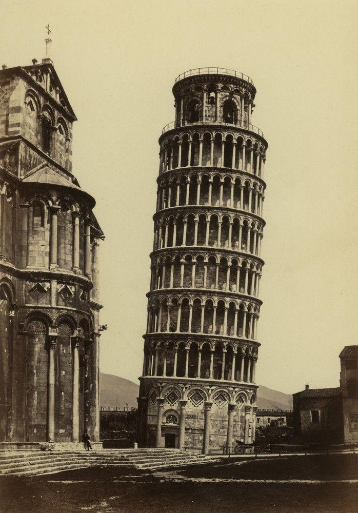FRATELLI ALINARI | ... torre pendente, 1860 ca., Raccolte Museali Fratelli Alinari, Firenze
