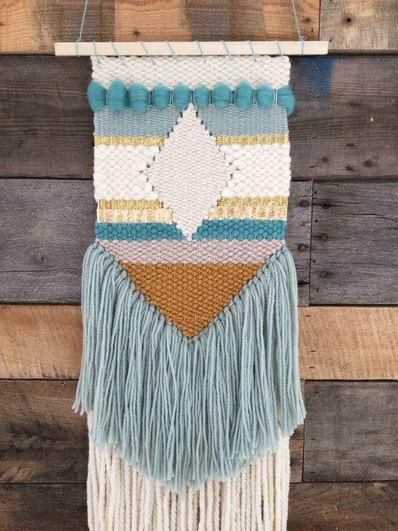 Handmade Woven Wall Art By Sunwoven Via Etsy Weavings
