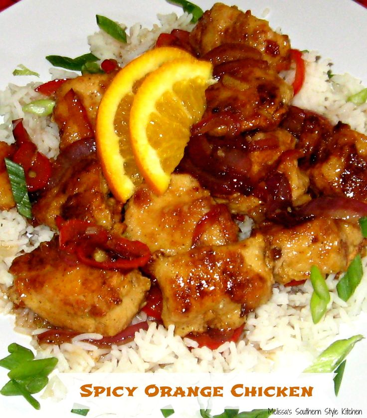 Spicy Orange Chicken - Busy days need for meal simplicity like this spicy orange chicken. Who needs take out when you can whip up this delicious version at home?