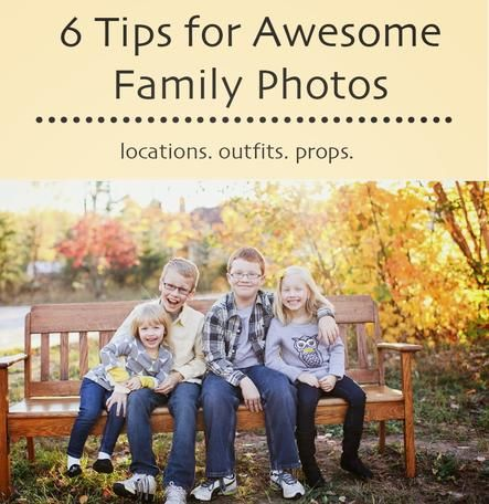 Samantha Elizabeth shares 6 Tips for Awesome Family Photos