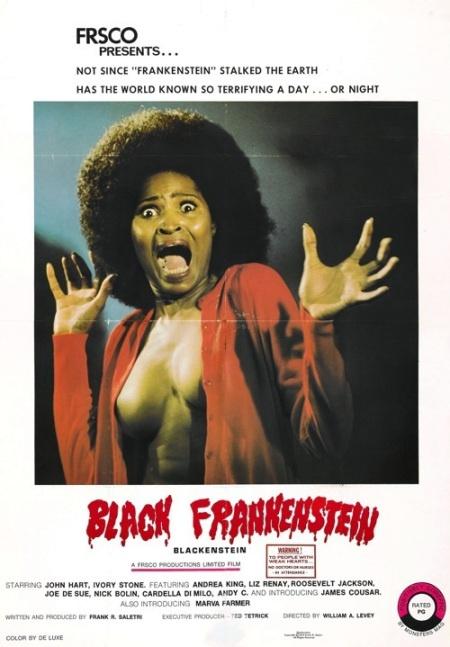 70s movie posters | Black Frankenstein | Revisit the ...