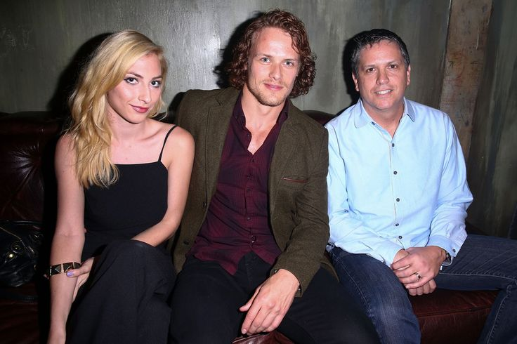 Sam heughan cody kennedy timberland fall concert event oct 2014 more