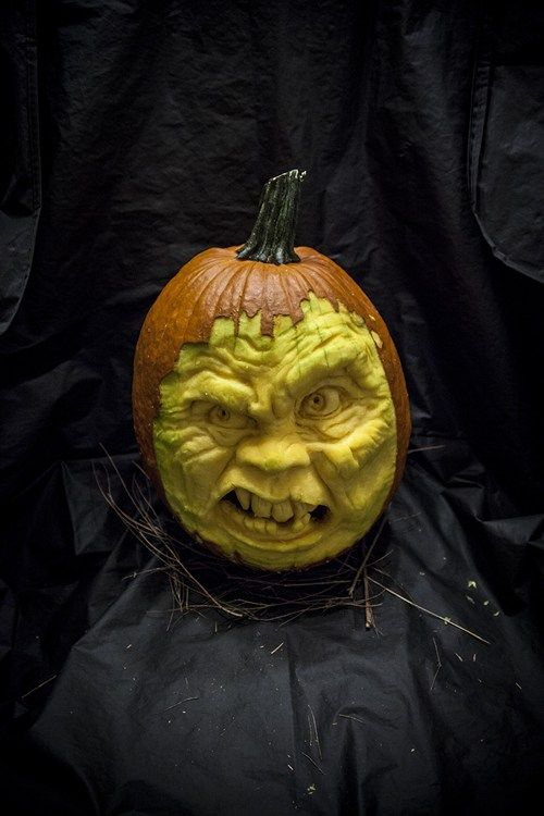 Pumpkin carving halloween pinterest