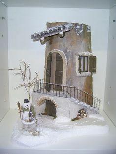 tegole decorate inverno immagini - Cerca con Google