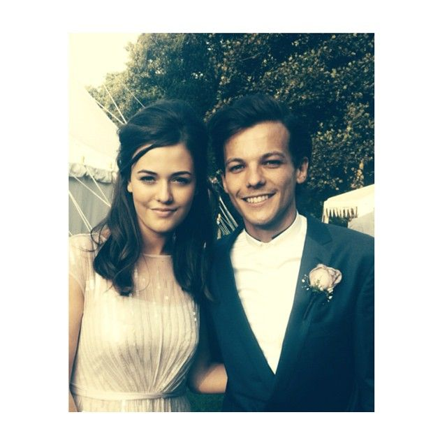 Two of my lovely babies! Louis & Felicite on my wedding day