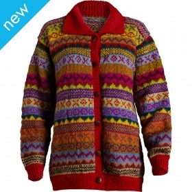 Natural Collection Select - Hand Knitted Multi-Colour Jumper - Fair Trade £89.95