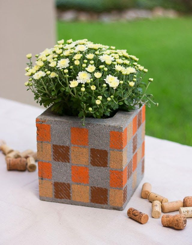 20 Best Images About Cinder Block Ideas On Pinterest